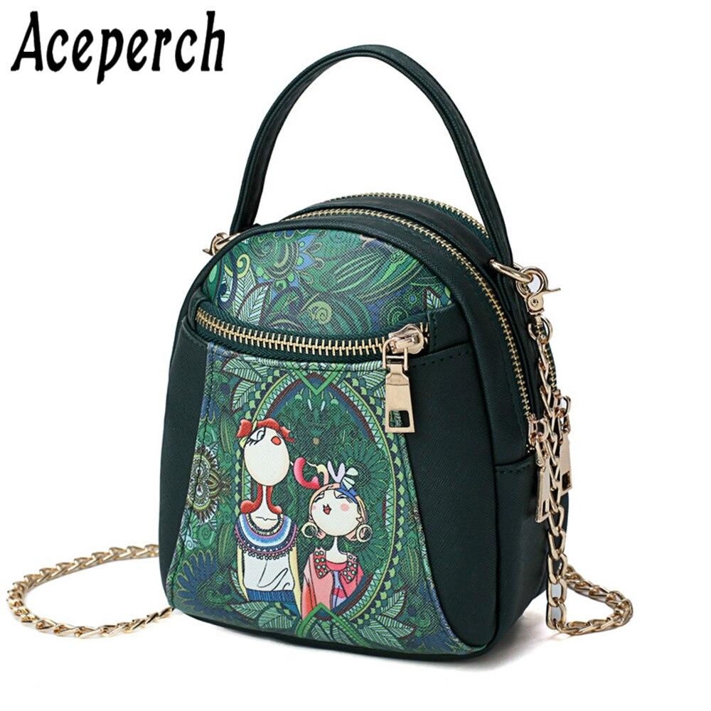 60f34100f812 ACEPERCH Для женщин дизайн из искусственной кожи Crossbody дамы  Повседневное сумка небольшой лоскут сумки на плечо