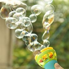 Ручной Электрический пузырь палочка машина автоматический воздуходув с вентилятором игра на открытом воздухе игрушки для детей