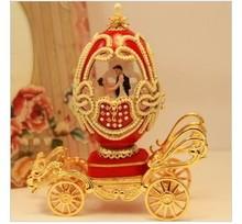 Luxury wedding European royal wedding gift box Christmas music egg gift choice for the Qixi Festival girlfriend