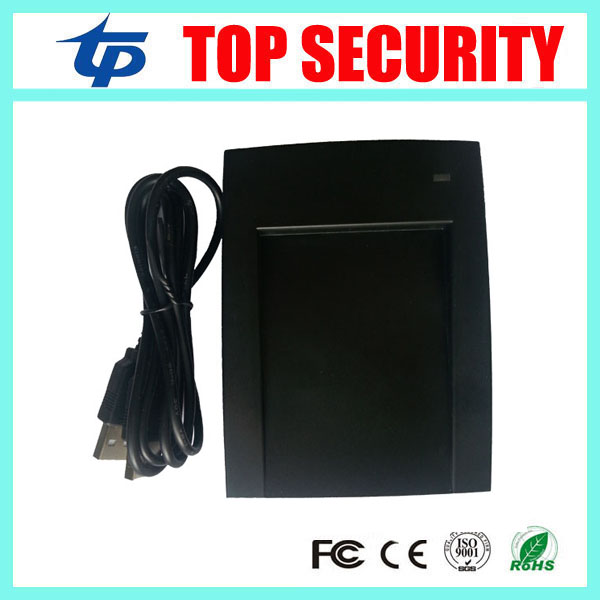 USB RFID EM card 125KHZ smart card reader USB proximity ID card reader for door access control and time attendance usb rfid id contactless proximity smart card reader em4001 em4100 windows usb id card reader access control card reader