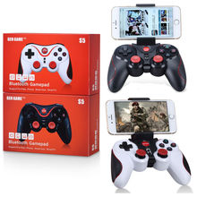 S5 Wireless Bluetooth Game Console Handle Controller Gamepad For IOS Android OS Phone Tablet PC Smart TV