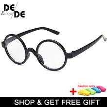 Новые милые детские круглые очки рамы Дети Твердые Гарри Поттер оправа для очков близорукие линзы оправа для мальчиков и девочек детские очки