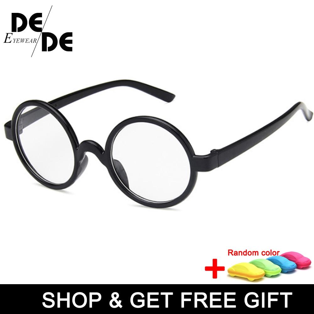The New Cute Baby Round Glasses Frame Kids Solid Harry -Potter Spectacle Frames Myopic Lens Frame Boy&Girls Children Eyeglasses