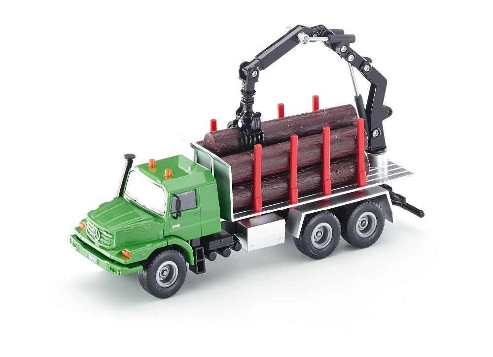 siku 2714 Zetros Log transporter Timber wood transport