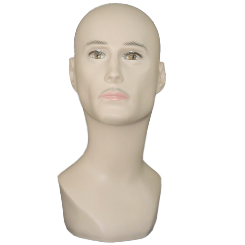 Top quality male Mannequin Head Hat Display Wig training head model head model men's head model head