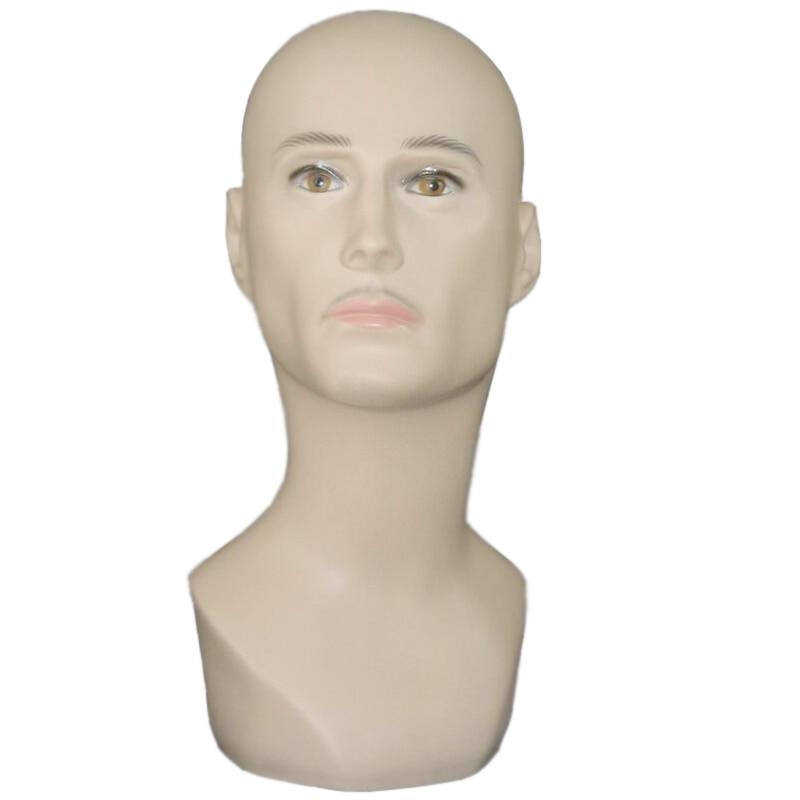 Top quality male Mannequin Head Hat Display Wig training head model head model men's head model цены онлайн