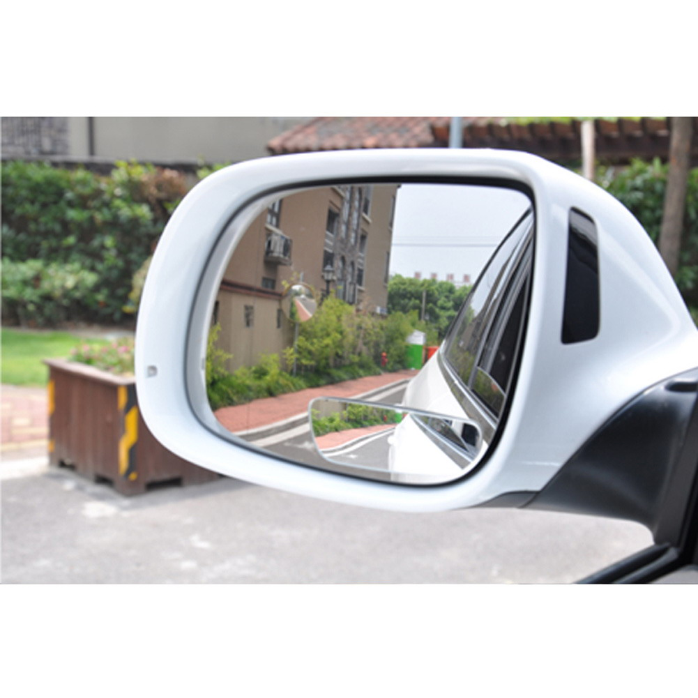 More secure when driving with our Round Convex Blind Spot Mirror for Parking Rear view