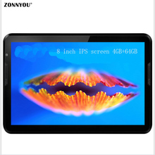 8 inch Tablet PC Octa Core Original 4G LTE Phone Call SIM card 4GB di Ram; 64GB Rom Android 6.0 Bluetooth WiFi GPS FM Tablet PC