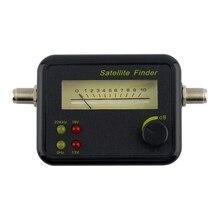 Plastic Black Mini Digital Lcd Display Satellite Signal Finder Meter Tester With Excellent Sensitivity Tv Receiver