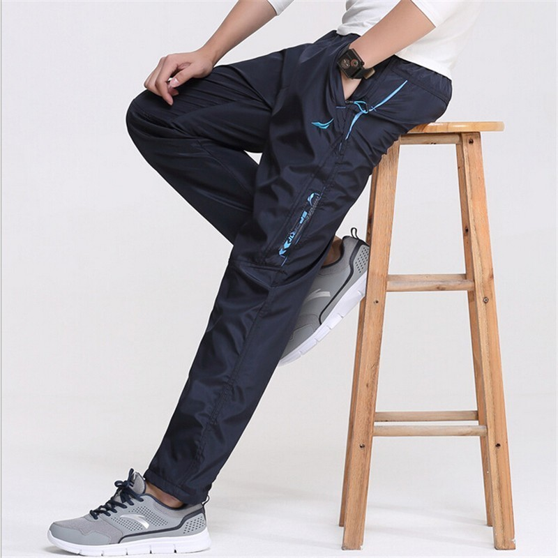 New 2018 Spring Outside Men's Casual Pants Quickly Dry Active Men's Working Man Exercise Physical Trousers Male Sweatpants Pants