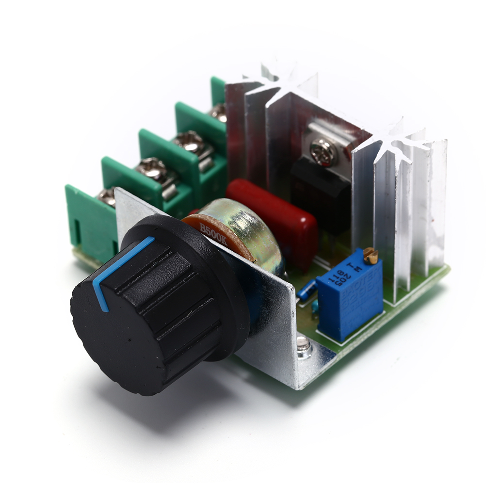 Silicon Controlled Rectifier Scr Voltage Regulator Speed Control Four Components A Or Zener Diode 2000w Thyristor Electronic Dimmer 220v Temperature Thermostat