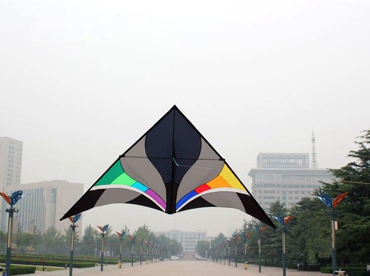 livre 3m potencia nailon triangulo kite com kandle linha voar 05