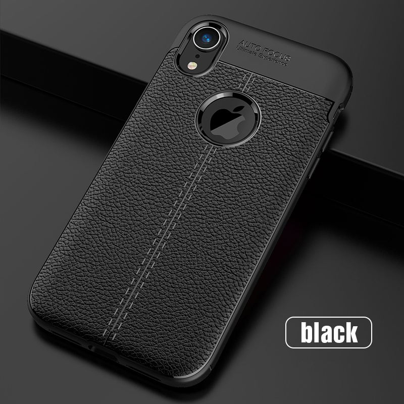 Carbon Silicone Case For iPhone Xs Xs Max Case 360 Luxury Leather Soft TPU Case For iPhone Xr Xs Max X 10 Case Coque             (14)