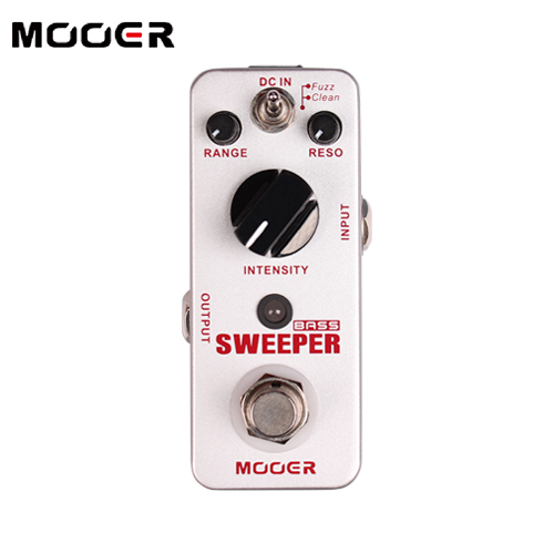 MOOER Sweeper Bass filter Pedal for Bass and Guitar Unique Funky style filter tone Guitar effect pedal mooer sweeper bass effects pedal dynamic envelope filter