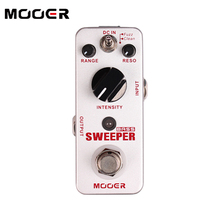 MOOER Sweeper Bass filter Pedal for Bass and Guitar Unique Funky style filter tone Guitar effect pedal