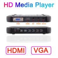Free Shipping 1080P HD Media Player Support Blueray HDMI VGA AV MKV H 264 SD USB