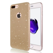 Frosted Shine Silicone Soft Case for iPhone 6 S 6S iPhone 7 iPhone 8 Plus X 10 XR XS MAX 5S 5SE 8Plus Cell Phone Cover Armor