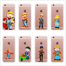 DK Bob the Builder phone case Cover Hard for Samsung s8 s9plus S6 S7Edge S5 S4 S3 for iPhone 6 6s 7 8plus 5s 5c 4s X XS XR XSMAX