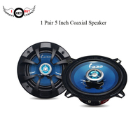 5 inch Cars Coaxial Speaker 1 Pair High Quality Voice Speakers Automobile Car Home KTY Audio Tweeter Loudspeaker 12V 100W Bubble