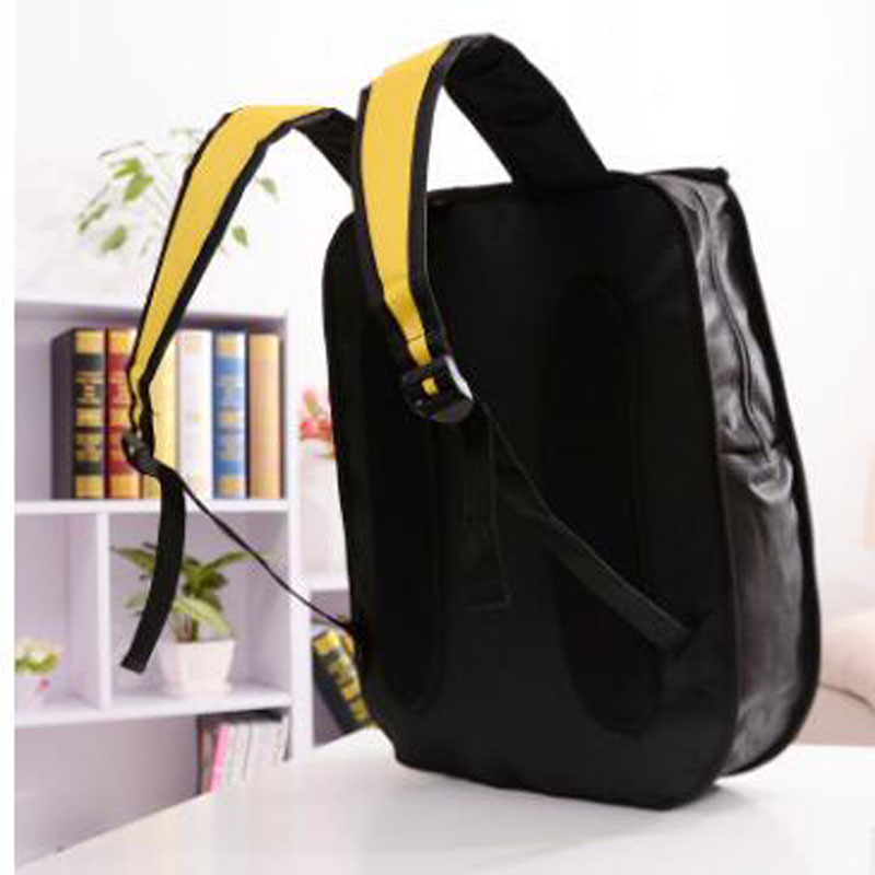 2019 New 3d Jump Style 2d Drawing Cartoon Paper Bag Comic Backpack Messenger Tote Fashion Cute Student Bags Unisex Bolos 4colors #5