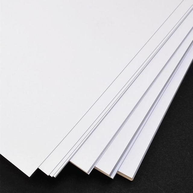 A4 Size White Craft Paper Card Thick Kraft Paper Kraft Card