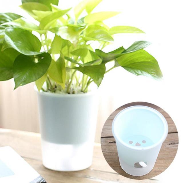 Us 237 Własny Podlewania Mini Plastikowe Doniczki Wazon Kwiat Bonsai Garnki Przedszkola Garnki Plantator Donice Ogrodowe W Własny Podlewania Mini