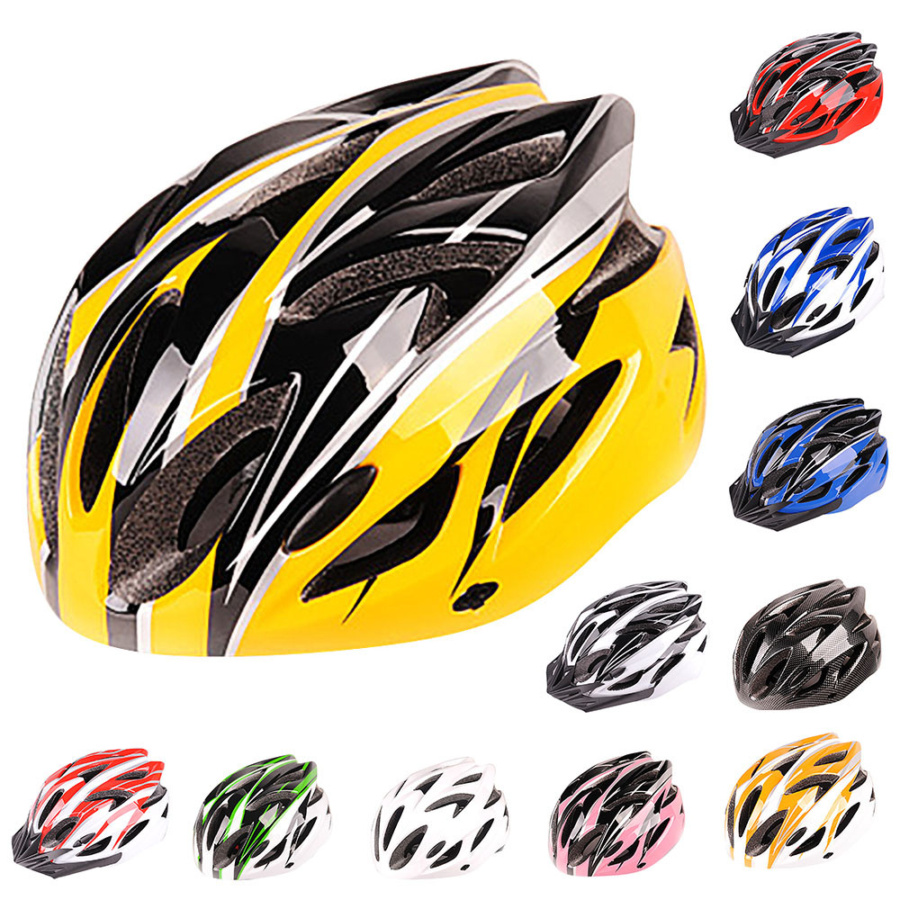 Adjustable Carbon Bicycle Cycling Skate Helmet Mountain Bike Road Cycle Sports Safety Helmet Women Men Riding