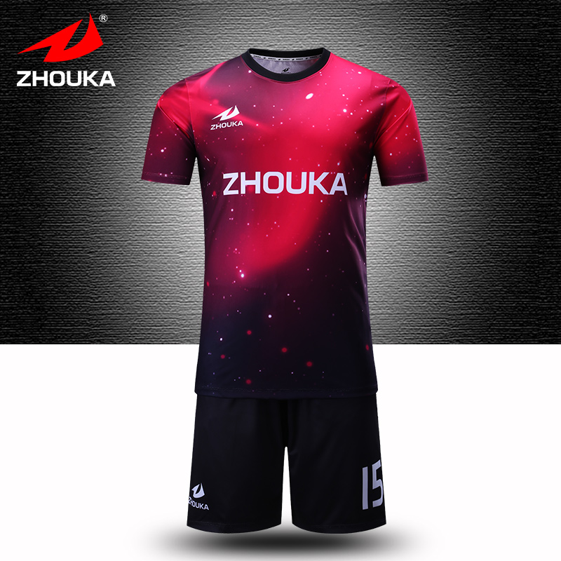 b0b28a60e51ad ¿Dónde puedo personalizada camiseta de fútbol 100% poliéster de calidad  superior de fútbol personalizada jersey de nuevo diseño en Camisetas de  fútbol de ...