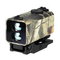 Ziyouhu Mini Laser Range Finder Mount Op Rifle Afstandsmeter Voor Outdoor Hunting Schieten Afstand Snelheid Measurer 700 M Real- tijd