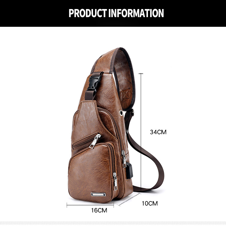 Engagement & Wedding Aelicy Men Business Pu Leather Messenger Bag Single Strap Back Bag Travel Crossbody Casual Handbags Bags Sport Phone Bag New