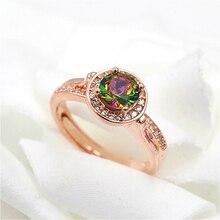 Free shipping fashion ring  Women dazzling full drill 18 k plated ring Women creative wedding ring 18 k women ring plating