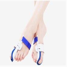 1Pair Hallux Valgus Posture Corrector Orthopedic Toe Separator Bunion Straightener Foot Care Pedicure Tools