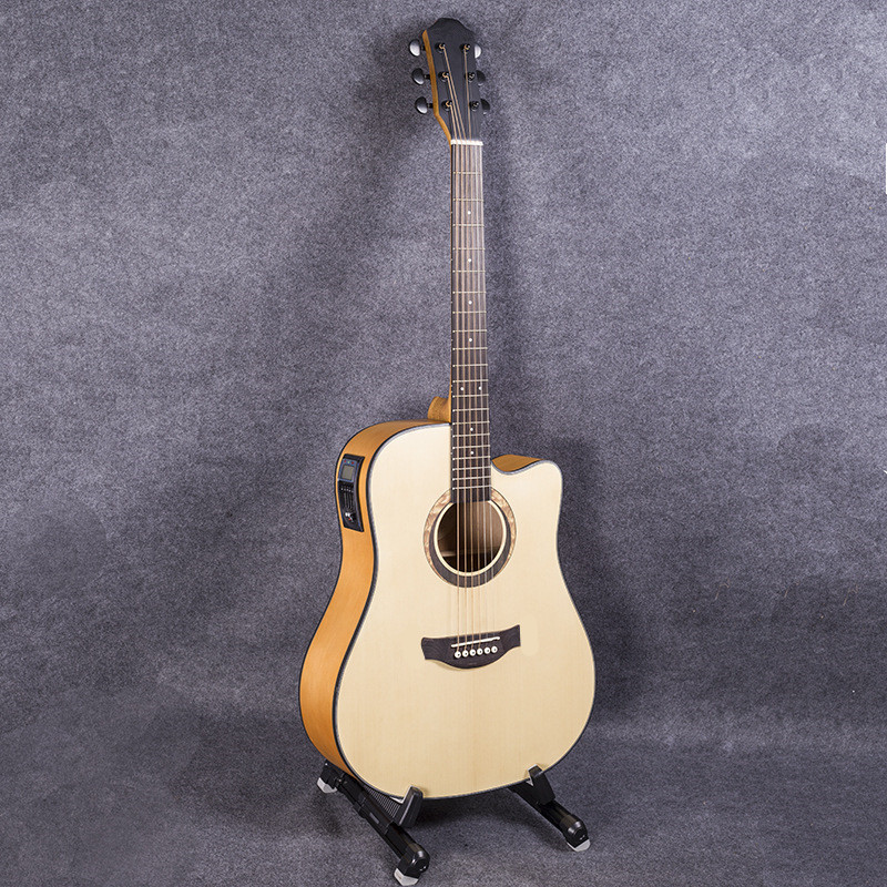 41-34 NEW 41 inch 5 EQ Electric Acoustic Guitar Rosewood Fingerboard guitarra with pickups tuner strings стоимость