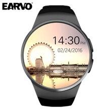 Original KW18 Bluetooth SIM G Sensor MTK2502C IPS LCD Heart Rate Monitor Pedometer Tracker Smartwatch Android