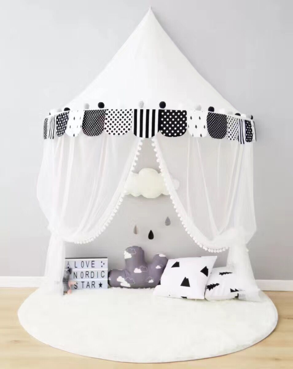 Tent For Kids Room Baby Bed Canopy Tipi Enfant Teepees For Children Play  House Tent Mosquito Net For Baby Crib Home Decorations In Toy Tents From  Toys ...