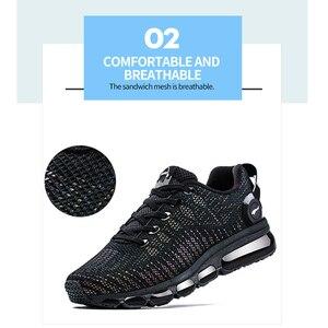 Image 5 - ONEMIX Zapatillas de correr para hombre, zapatos reflectantes de alta calidad, con cojín de aire, para entrenamiento deportivos, para correr, de talla grande