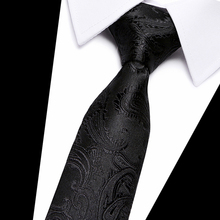 Fashion Trend Men Tie 100% Jacquard Woven Silk Mens Ties Necktie 7.5 cm Striped for Business Suit Wedding Party