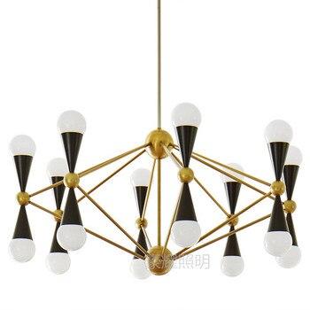 Amerikan Kolye Işıkları minimalist kişilik sonra modern yaratıcı tasarım modeli Beanstalk İskandinav restoran LU725230