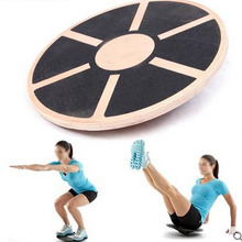 Antislip Wood Balance Board Multipurpose Fitness Trainer Strength Training Equipment Free Shipping