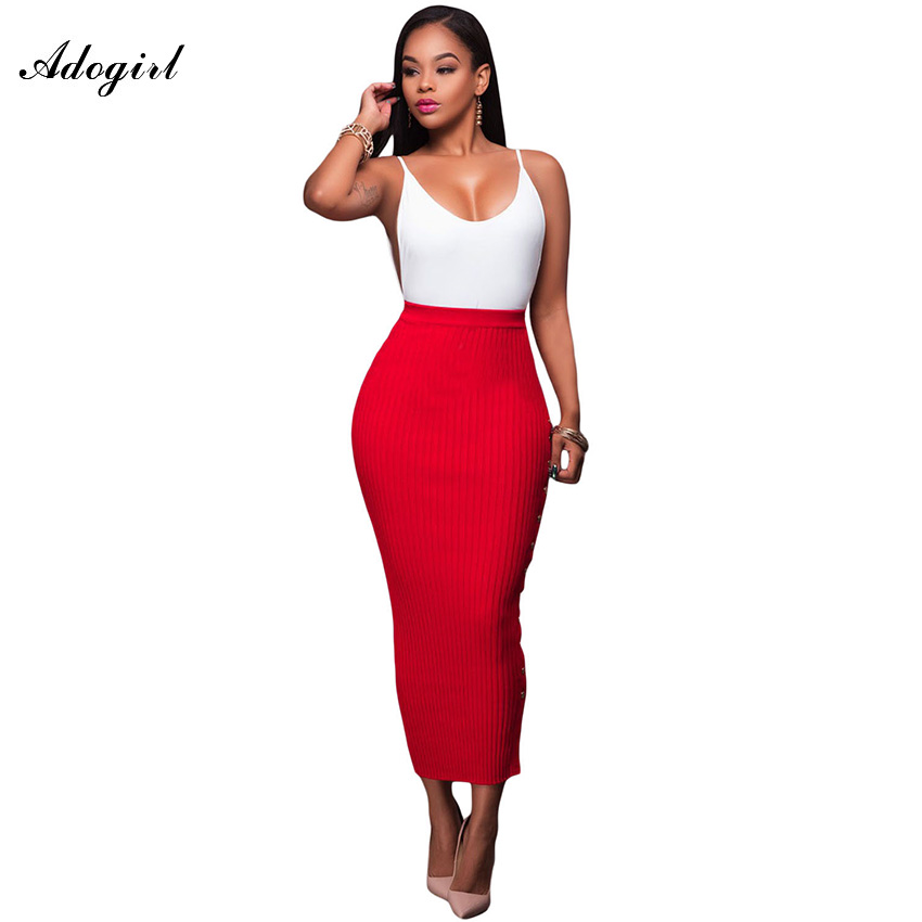 Popular White Long Pencil Skirt-Buy Cheap White Long Pencil Skirt ...