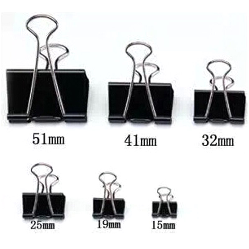 High Quality Metal Binder Clips 36pcs/lot Paper Clips