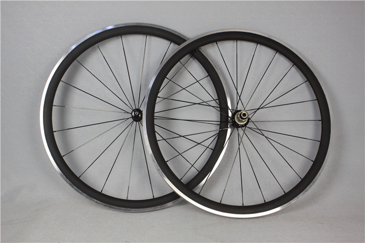 Thrust road wheels, 38mm full carbon wheelset+ alloy oem carbon wheel bicycle wheel