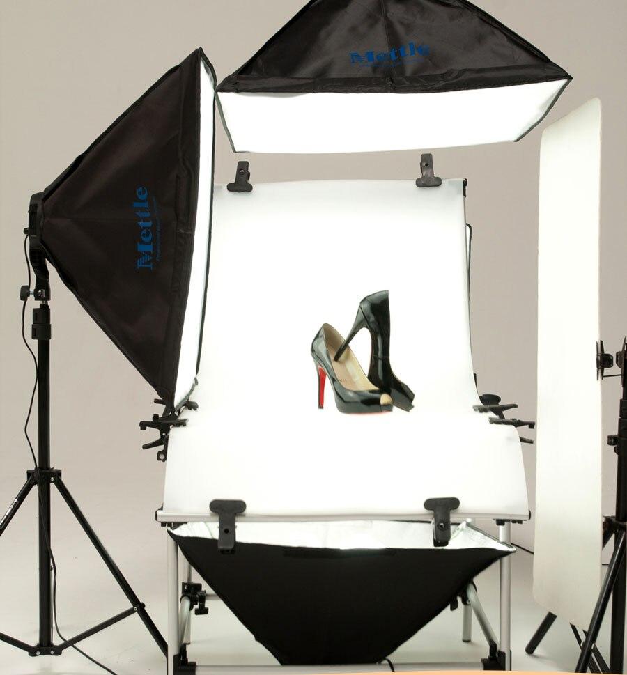 Studio Photo Lighting Kit de mesa de tiro con 50 cm X 70 CM Softbox - Cámara y foto - foto 5