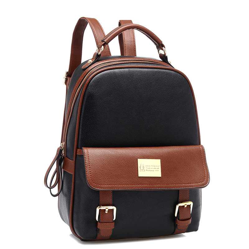 Vintage Fashion En 2015 Backpack Size Pu Brand Leather Women's De Large Pocket Mochila Girls School Bag Mochilas Bolsos Style Ladies Y Feminina 5d5rxwqvT