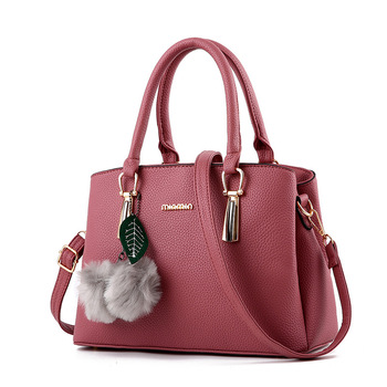 ba2c7add5d56 Женские сумки 2019 волосы мяч сумка новый стильный из искусственной кожи  Кроссбоди мешок простой Женский на плечо