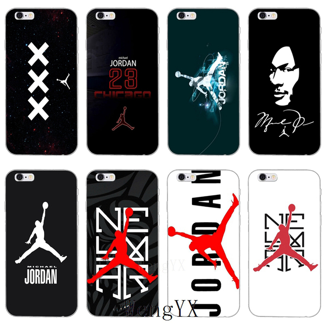 2018 new michael jordan 23 logo silicone soft phone case for samsung