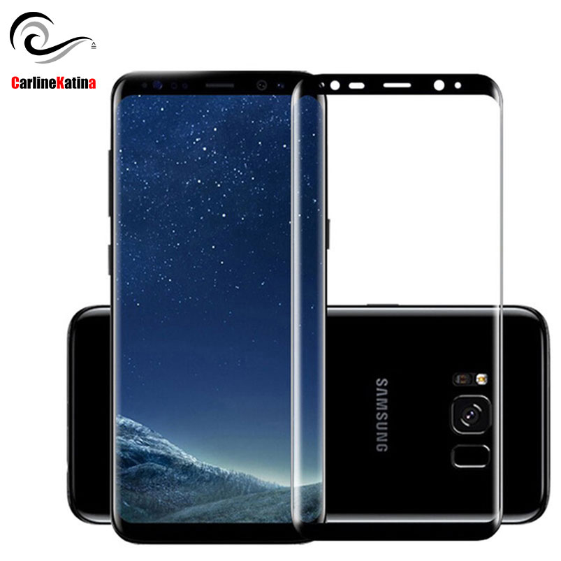 <font><b>Full</b></font> <font><b>Cover</b></font> Tempered <font><b>Glass</b></font> For <font><b>Samsung</b></font> <font><b>galaxy</b></font> S8 S9 Plus S6 S7 Edge <font><b>A5</b></font> J7 J3 <font><b>2016</b></font> 2017 Note 9 8 Screen Protector Film Case 3D 5D image