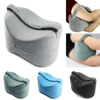 Memory Foam Knee Leg Pillow Bed Cushion Leg Pad Support Cushion Leg Shaping Pregnancy Travel Body Pain Relief Back Support