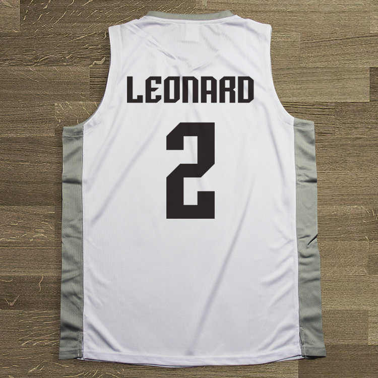 9aef9d86a10 ... SYNSLOVEN Men Basketball Jersey top Uniforms spurs no.2 Kawhi Leonard  Sports clothing mesh Breathable ...