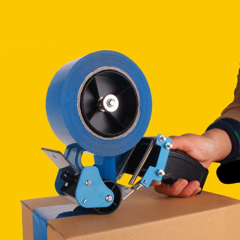 6cm Width Tape Cutter Sealing Tapes Gun Dispenser Packaging Parcel Machine Handheld Packer Tool Holder